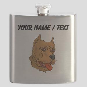 Perro de Presa Canario (Custom) Flask