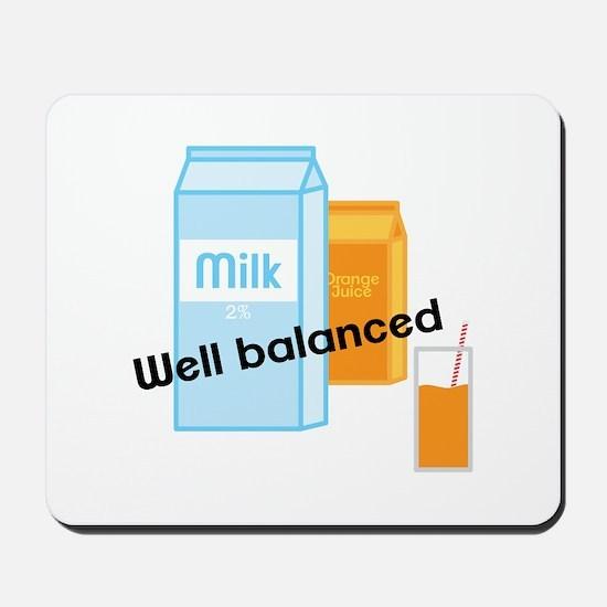 Well Balanced Mousepad