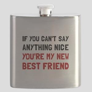 Nice Best Friend Flask