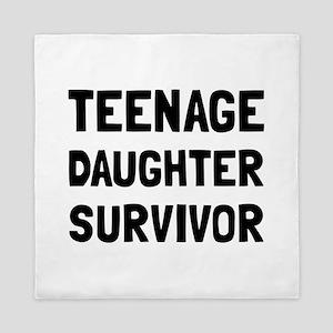 Teenage Daughter Survivor Queen Duvet