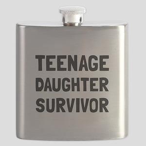 Teenage Daughter Survivor Flask