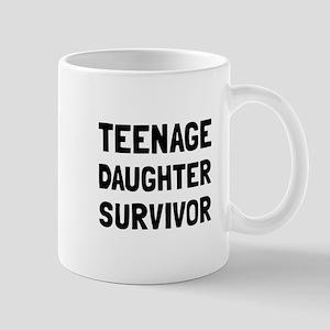 Teenage Daughter Survivor Mugs