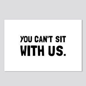 You Can't Sit With Us Postcards (Package of 8)