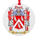 Hewitt Round Ornament