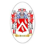 Hewitt Sticker (Oval 10 pk)