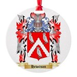 Hewitson Round Ornament