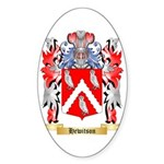 Hewitson Sticker (Oval 50 pk)