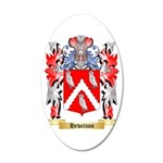 Hewitson 35x21 Oval Wall Decal