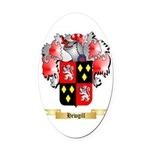 Hewgill Oval Car Magnet