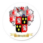 Hewgill Round Car Magnet