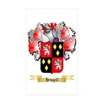 Hewgill Sticker (Rectangle 50 pk)