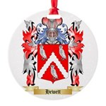 Hewett Round Ornament