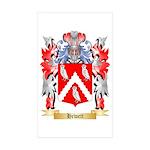 Hewett Sticker (Rectangle 50 pk)