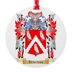 Hewetson Ornament
