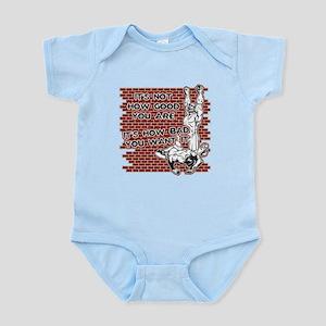 Wrestling How Good You Are Infant Bodysuit