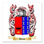 Hevia Square Car Magnet 3