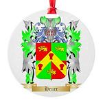 Heuer Round Ornament