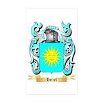 Hetzel Sticker (Rectangle 50 pk)