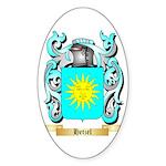 Hetzel Sticker (Oval 10 pk)