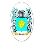 Hetzel Sticker (Oval 50 pk)