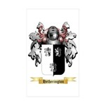 Hetherington Sticker (Rectangle 10 pk)