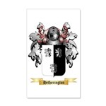 Hetherington 35x21 Wall Decal