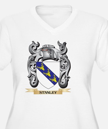 Stanley Coat of Arms - Family Cr Plus Size T-Shirt
