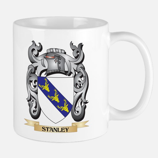 Stanley Coat of Arms - Family Crest Mugs