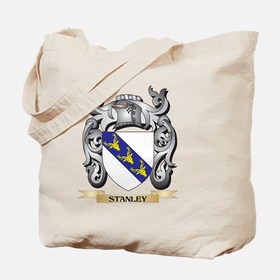 Stanley Coat of Arms - Family Crest Tote Bag
