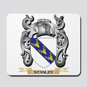 Stanley Coat of Arms - Family Crest Mousepad