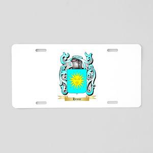 Hesse Aluminum License Plate