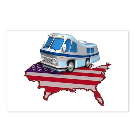 American RV Postcards (Package of 8)