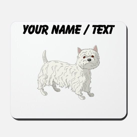 West Highland Terrier (Custom) Mousepad