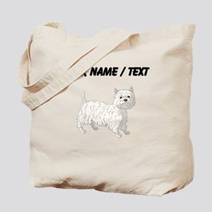 West Highland Terrier (Custom) Tote Bag