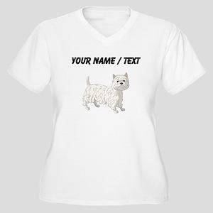 West Highland Terrier (Custom) Plus Size T-Shirt