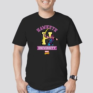 Hawkeye University Men's Fitted T-Shirt (dark)