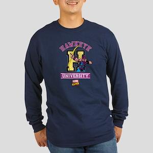 Hawkeye University Long Sleeve Dark T-Shirt