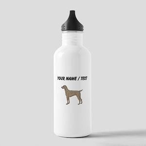 Weimaraner (Custom) Water Bottle