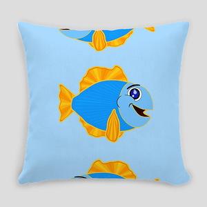 Cute Fish Master Pillow