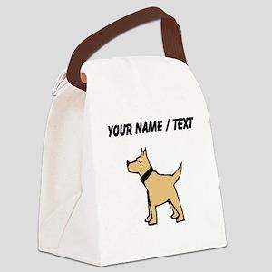Dogo Argentino (Custom) Canvas Lunch Bag