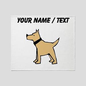 Dogo Argentino (Custom) Throw Blanket