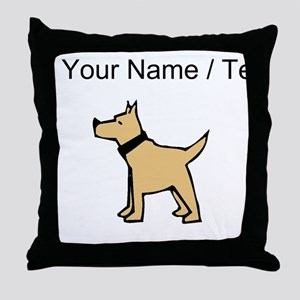 Dogo Argentino (Custom) Throw Pillow