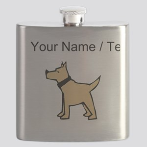 Dogo Argentino (Custom) Flask