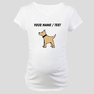 Dogo Argentino (Custom) Maternity T-Shirt