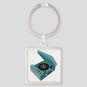 Record Player Keychains
