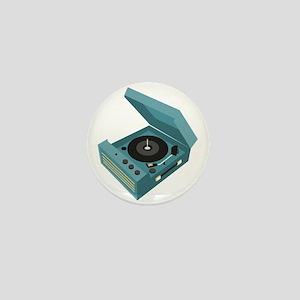 Record Player Mini Button