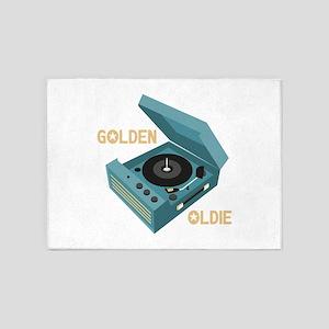 Golden Oldie 5'x7'Area Rug