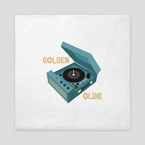 Golden Oldie Queen Duvet