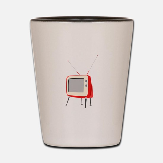 Television Shot Glass