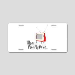 My Stories Aluminum License Plate